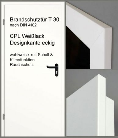 brandschutzt r t30 und t30 rs. Black Bedroom Furniture Sets. Home Design Ideas