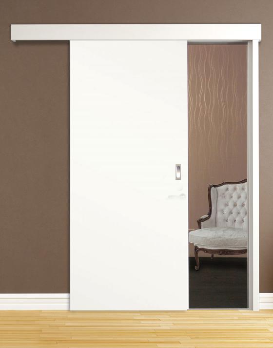schiebesystem schiebet r weisslack. Black Bedroom Furniture Sets. Home Design Ideas